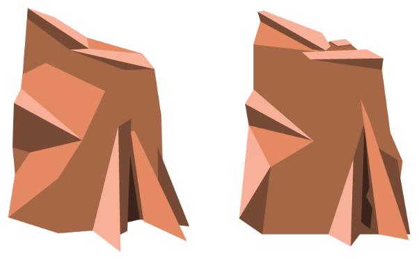 Aqualith mark development progression in copper