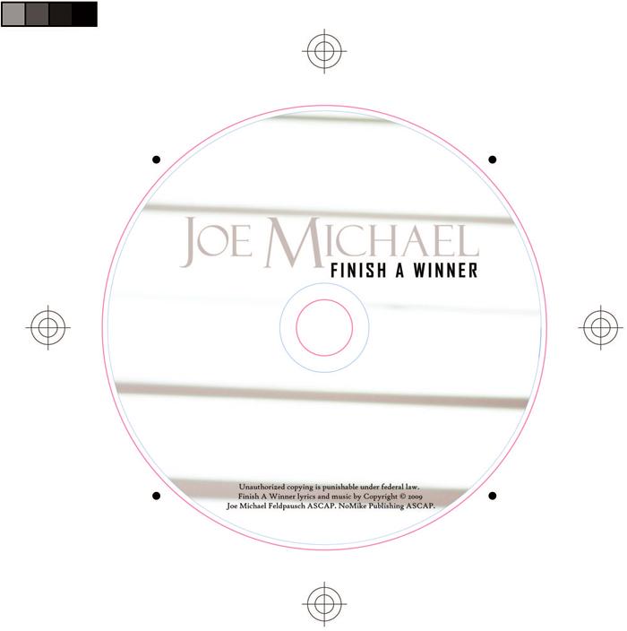 Finish A Winner disc label