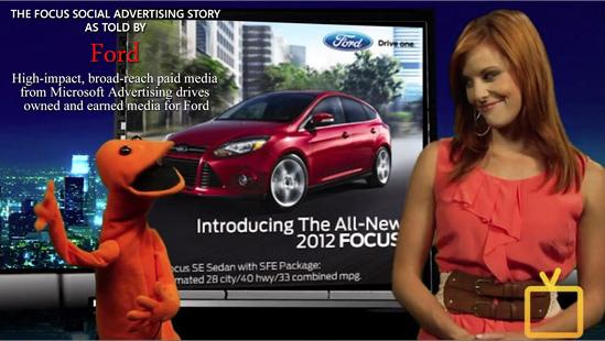 Microsoft Advertising - Ford campaign splice